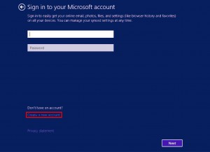 4. Sign In With Your Microsoft Account