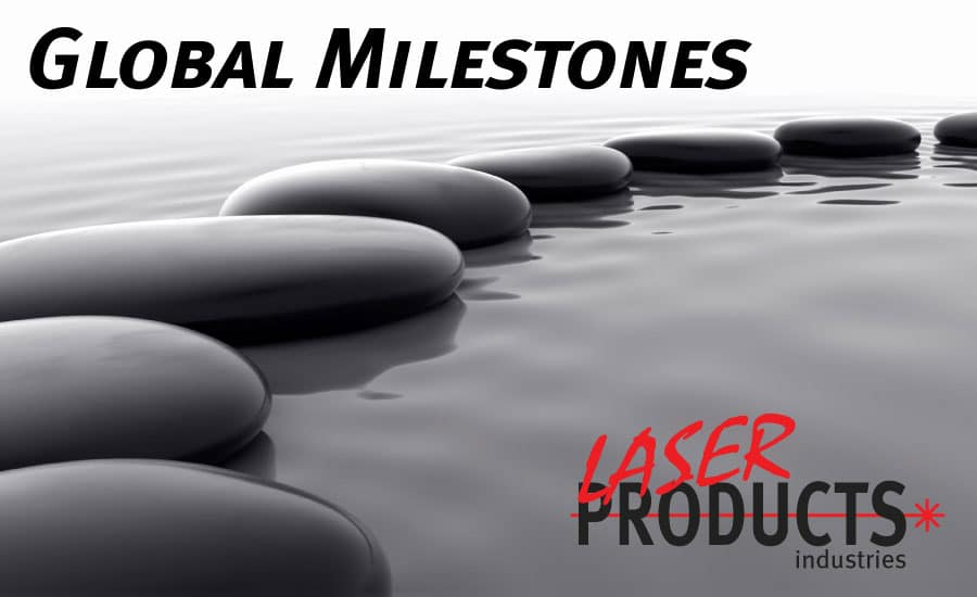 Laser Products Celebrates Two Global Milestones